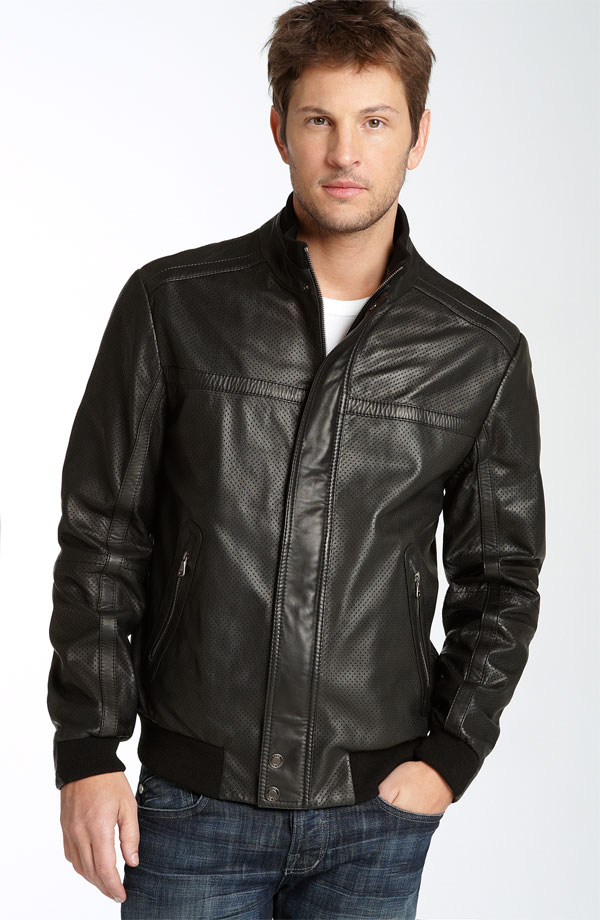 Black Leather Coats For Men