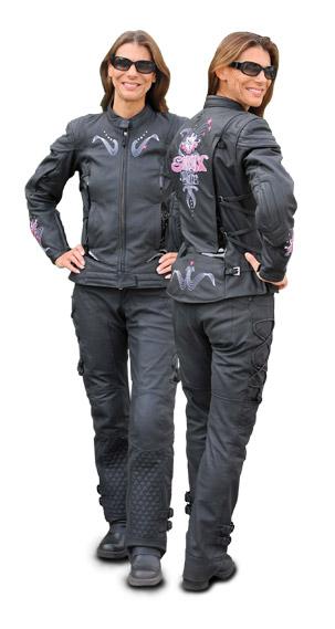 Black Motorcycle Gear For Women