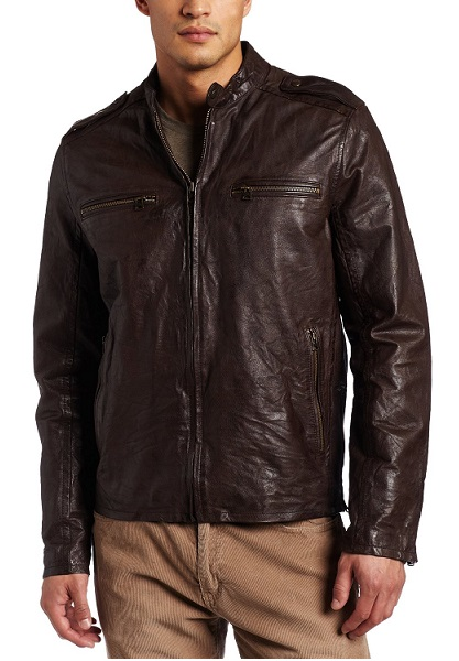 Brown Vintage Cafe Racer Jacket