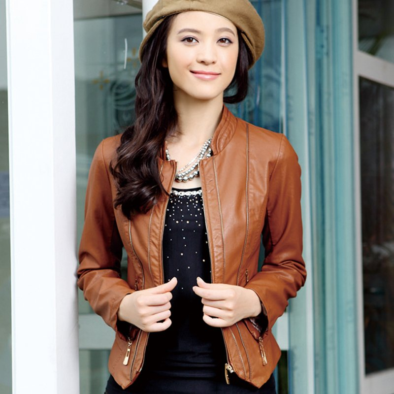 Brown Leather Jacket For Men And Women | Studded Leather Jacket