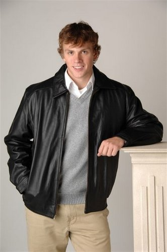 Comfy Custom Leather Jackets For Men