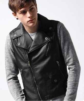 Cool Leather Vest For Men