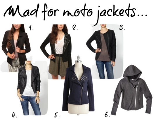 Different Styles of Moto Jacket