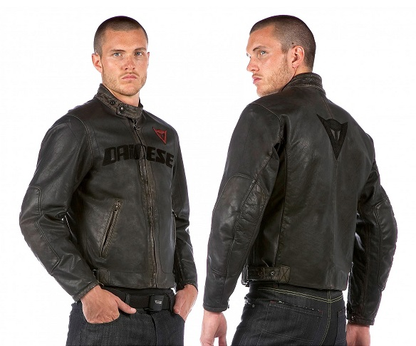 Fashion and Trendy Mens Vintage Leather Motorcycle Jacket