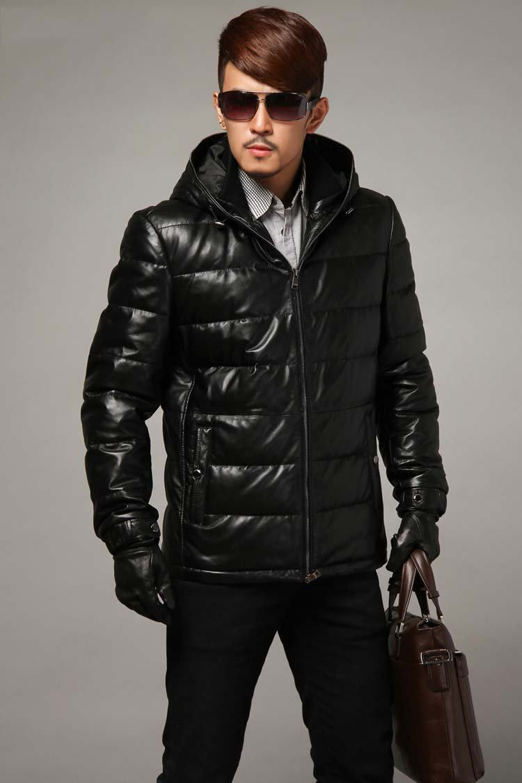 The Wide Range Of Winter Leather Coats For Men Studded