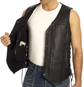 Find Cheap Leaather Vests For Men