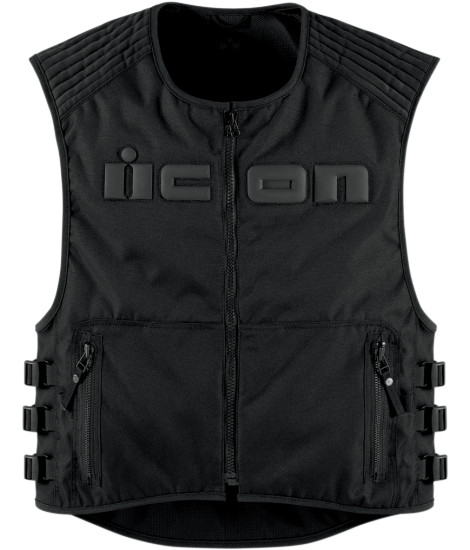 Mens Icon Leather Motorcycle Vests