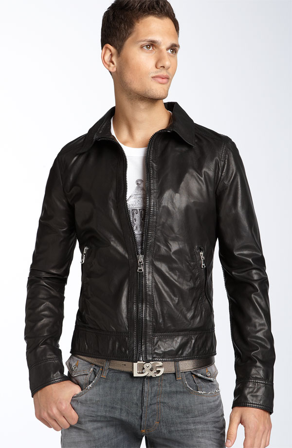 Mens Leather Clothing