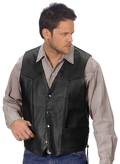 Most Popular Leather Vests For Men