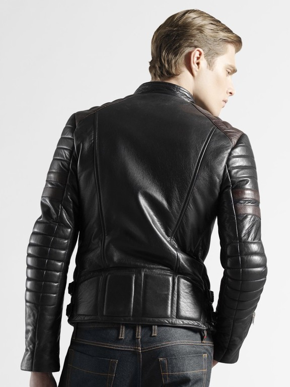 Leather Biker Jackets For Men Shopping Guide | Studded Leather Jacket