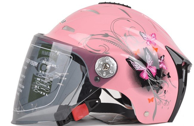 Pink Stylish Womens Motorcycle Helmets