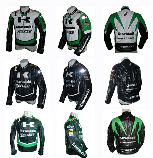 Popular Kawasaki Motorcycle Jackets For Men