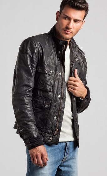 Pretty Cool Cafe Racer Leather Jacket
