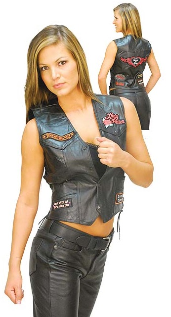 Sexy Leather Vest For Women