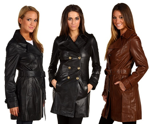 Top 5 Best Selling Leather Coats For Women | Studded Leather Jacket