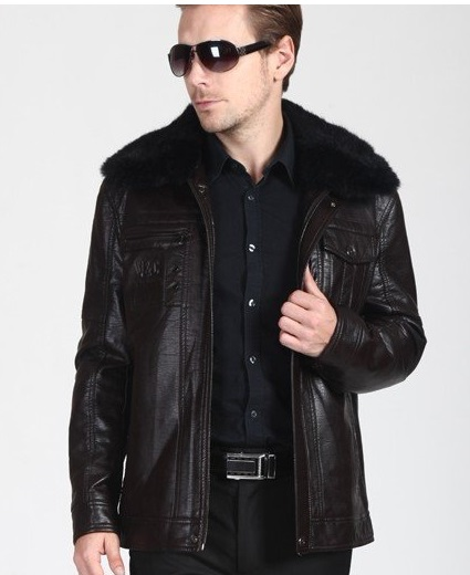 Stylish Black Mens Leather Coats And Jackets