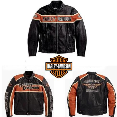 Harley Davidson Leather Jackets Studded Leather Jacket