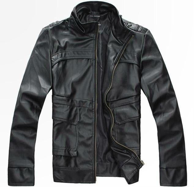 Windproof Custom Leather Jackets