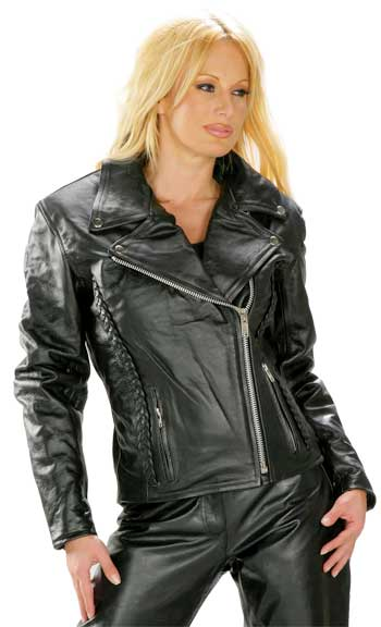 Womens CLassic Motorcycle Leather Suits