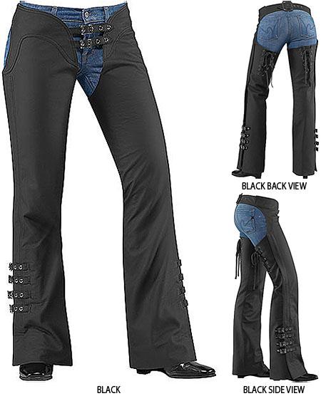 Womens Custom Leather Chaps